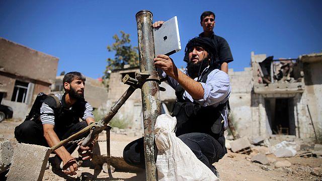 A szíriai lázadók iPad segítségével lövik ki a rakétáikat