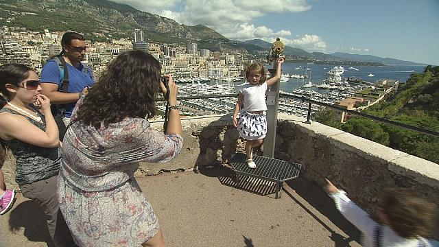 Monako'nun günübirlik ziyaretçileri