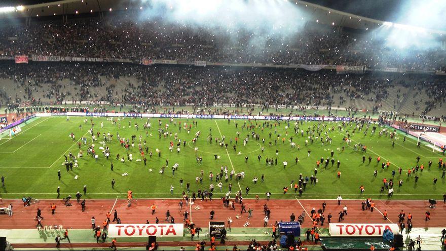 Şiddet Türk futbolunu yine teslim aldı