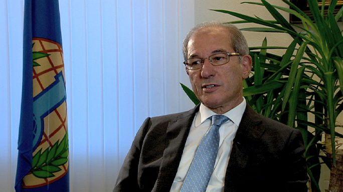 """OPCW-Chef Üzümcü: """"Zerstörung von Chemiewaffen in Syrien 2014 beenden"""""""