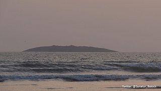 Pakistan earthquake creates new island in Arabian Sea