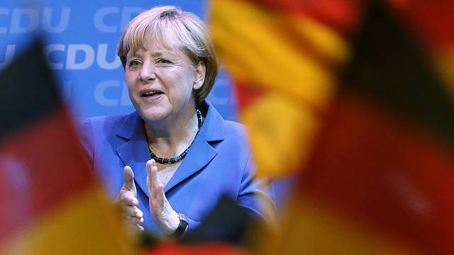 Merkel's grand coalition begins to takes shape
