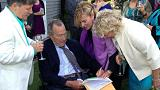 Ex-President George H.W. Bush serves as witness at same-sex marriage