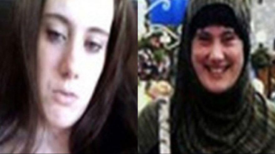 """Chasse à la """"veuve blanche"""", une Britannique transformée en jihadiste"""