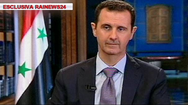 Syria: President al-Assad says his country will respect UN accords on chemical weapons