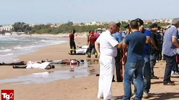Migrants killed on Sicilian tourist beach