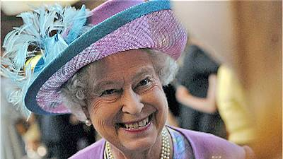 Five-star dining for Queen Elizabeth II
