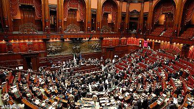 """Letta pide la confianza al Senado italiano """"para dar esperanza a nuestros hijos"""""""