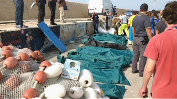 Dutzende Bootsflüchtlinge ertrinken vor Lampedusa