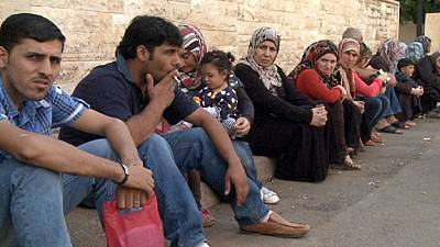 The plight of Syrian refugees who flee to Lebanon