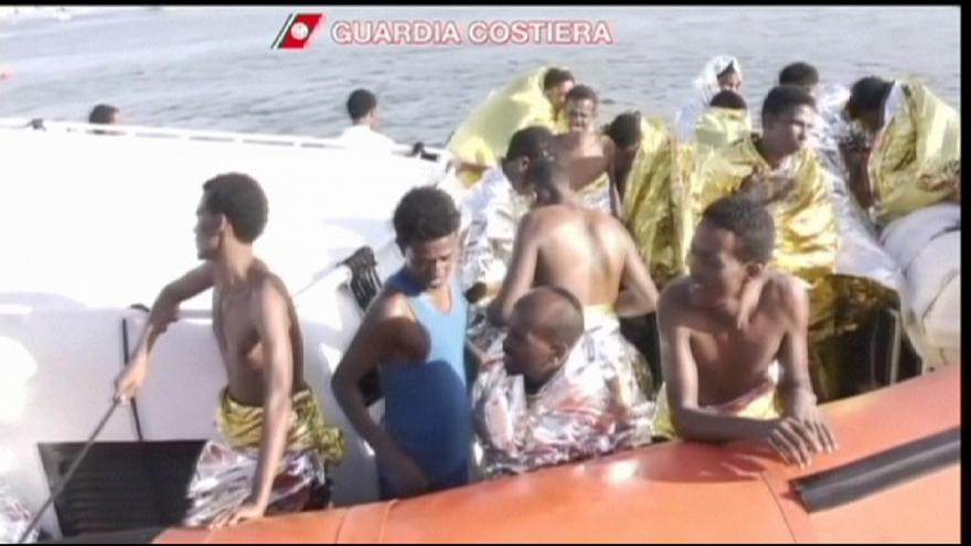 Migrants in the Mediterranean - driven by hope into a sea of troubles