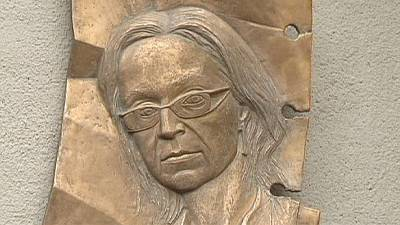 Memorial marks 7th anniversary of murder of Russian journalist Anna Politkovskaya