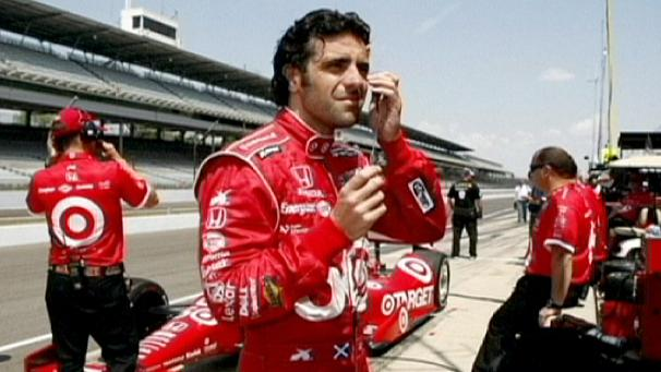 Franchitti fractures spine in Indy crash