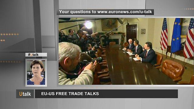 محادثات التجارة الحرة بين الاتحاد الأوروبي