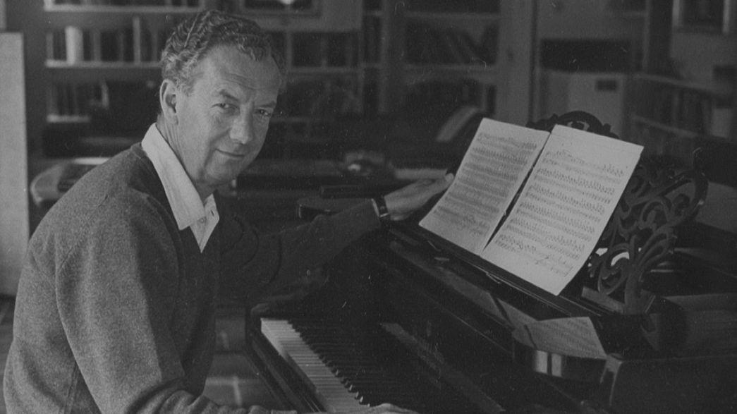 الذكرى المئوية للموسيقار بنيامين بريتن