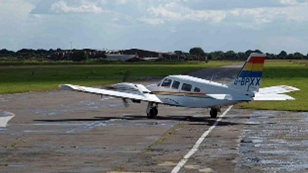 Passenger miraculously lands light aircraft after pilot falls ill at controls