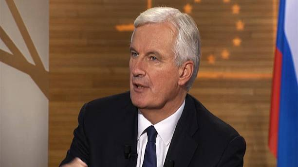 Michael Barnier says creating free trade deal with US could take three years