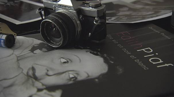 Photo exhibit marks Piaf's death