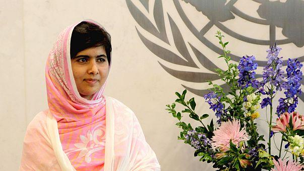 Malala Yousafzai, elegida premio Sájarov 2013 del Parlamento Europeo