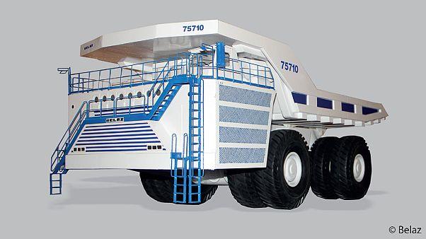 Le camion le plus gros du monde, un monstre hors-norme