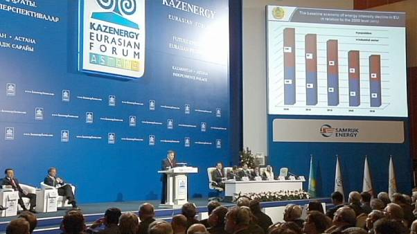 Enerjide değişen dengeler Astana'da masaya yatırıldı