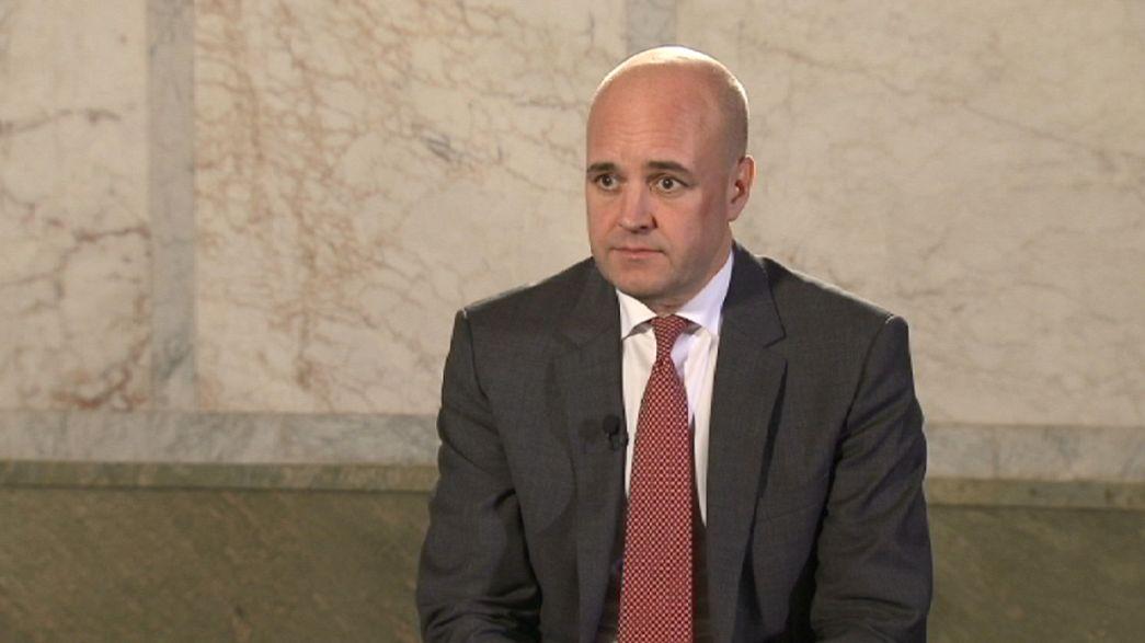 Migrationsproblem in Schweden? Ministerpräsident Reinfeldt im Interview
