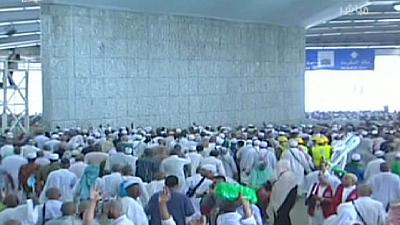 Hajj: 'stoning of the devil' ritual takes place near Mecca