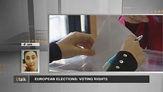 Eleições Europeias: direito de voto