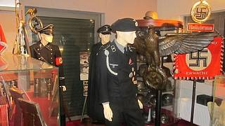 'Nazi museum' discovered in wanted Greek businessman's appartment