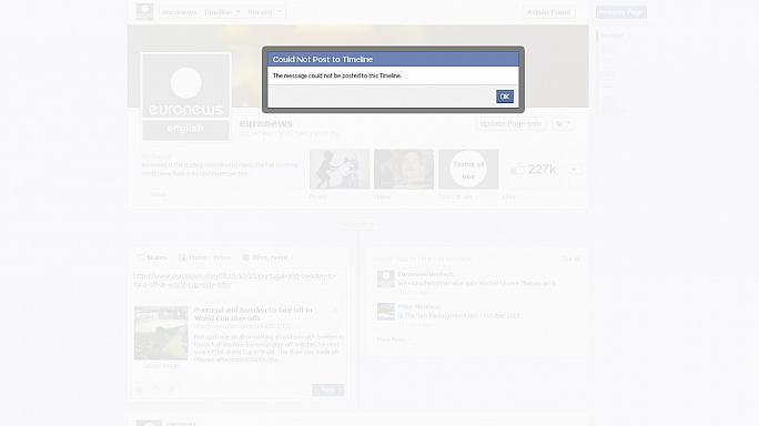 Facebook problems leave users unable to send messages or post comments