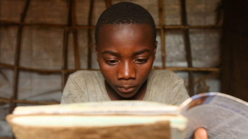 Kongolu mülteci çocukların tek umudu eğitim