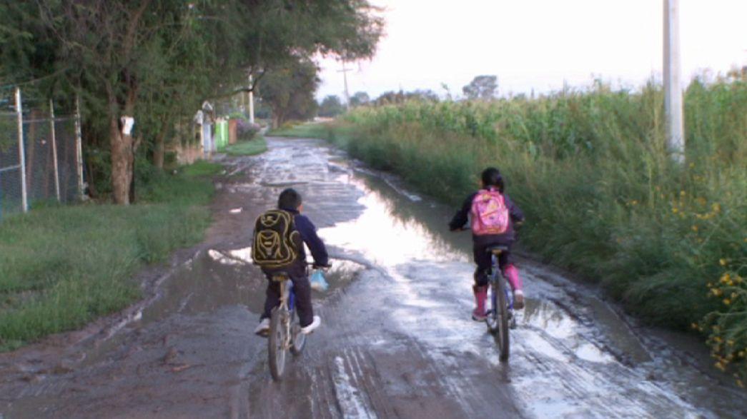 La lunga strada verso scuola
