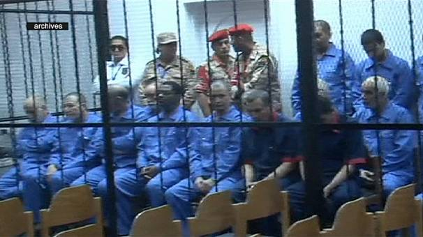 Top Gaddafi aides in the dock in Tripoli