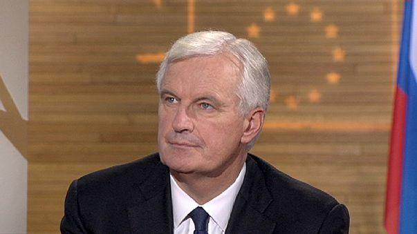 """Michel Barnier: """"Tenemos bases más sólidas ante una posible crisis"""""""