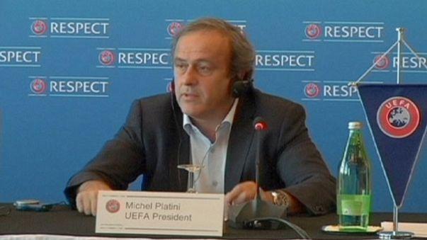 UEFA chief Michel Platini backs calls for more teams at football World Cup