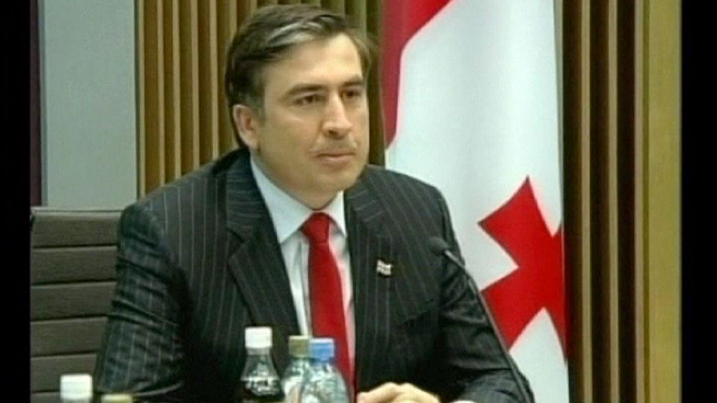 Michail Saakaschwili - der Absturz einer Revolutionsikone