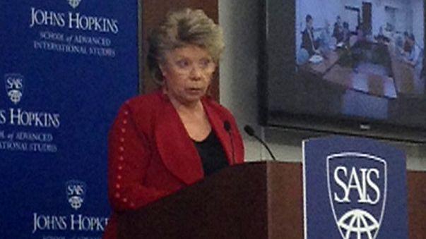 Spying affair: Viviane Reding issues strong warning to Washington