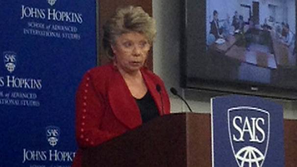 Spying affair: Viviane Reding issues strong warning to Washington
