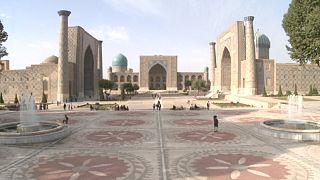 Samarkand e a rota das sedas