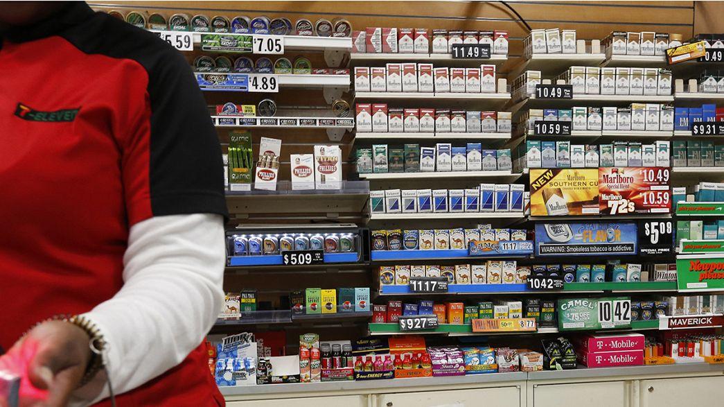 New York : Zigaretten erst ab 21
