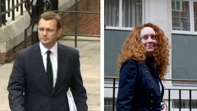 Brooks and Coulson, former editors of News of the World, had 6-year affair