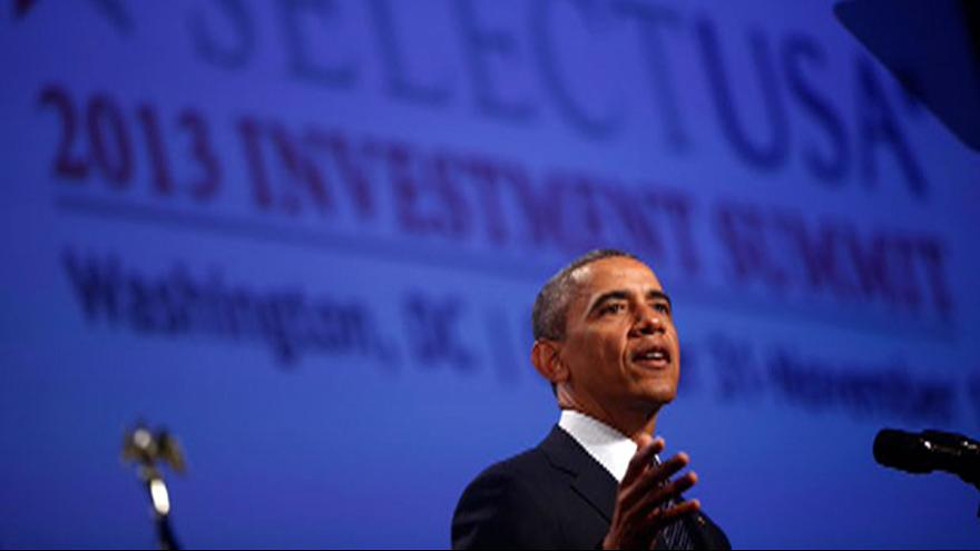 Obama to foreign investors: Come to America!