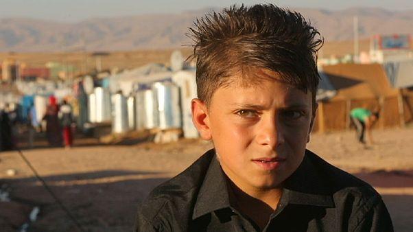 Ντομίζ: Ο προσφυγικός καταυλισμός των Κούρδων