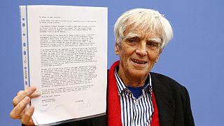Επιστολή Σνόουντεν στην Άγκελα Μέρκελ