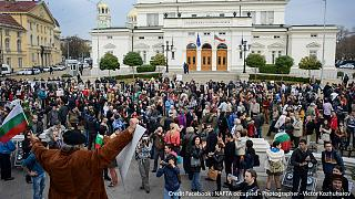 'Wake up!' Bulgarian students take to the streets to 'change [their] future'