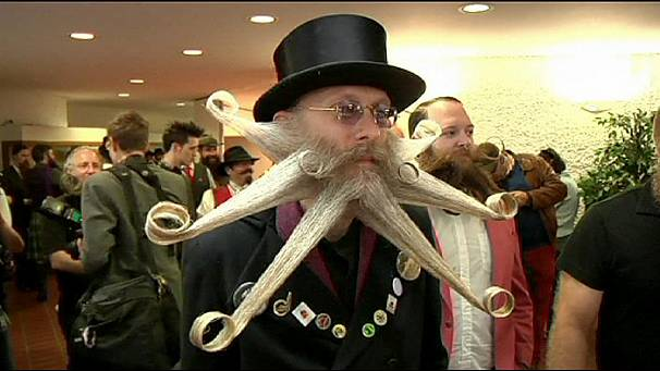 Hair raising time at World Beard Championships in Germany