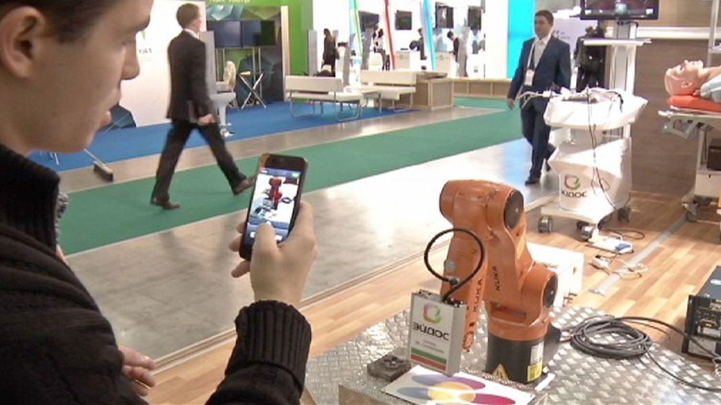 Un foro de la innovación en Moscú en tiempos de crisis