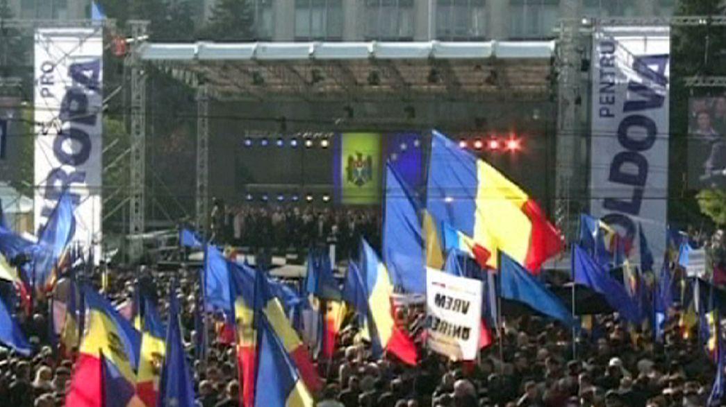 Moldavie : 100 000 voix pour l'Europe