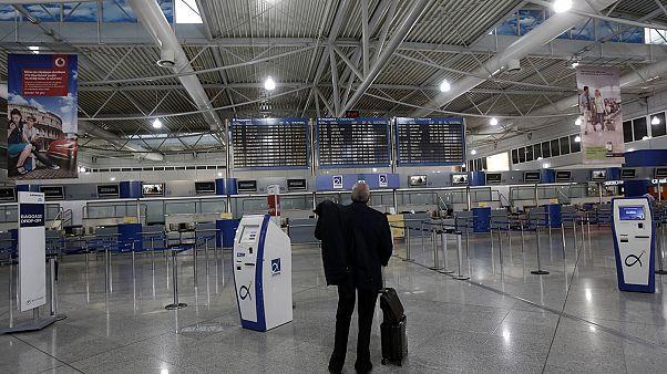 """Τη μεγαλύτερη μείωση επιβατών για το 2012 κατέγραψε το """"Ελ.Βενιζέλος"""""""