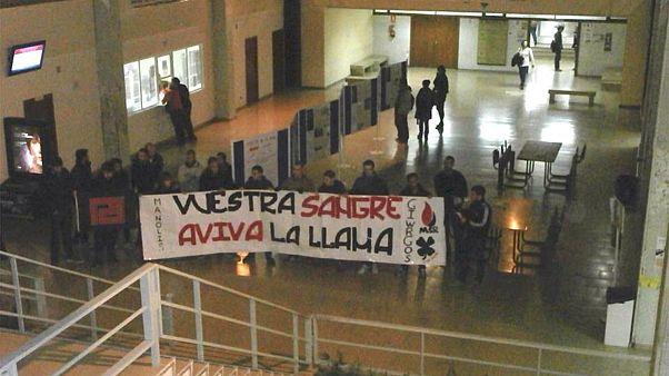 Εισβολή μελών της Χρυσής Αυγής στο Πανεπιστήμιο της Μαδρίτης
